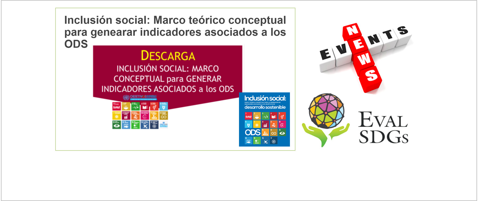 Indicadores y ODS: Marco teórico conceptual