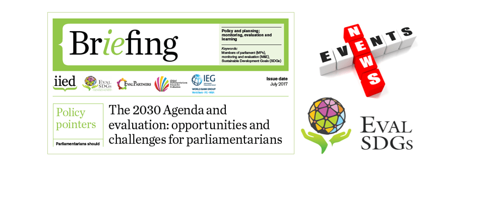 Briefing Paper 7 – The 2030 Agenda and evaluation: opportunities and challenges for parliamentarians
